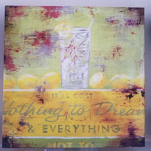 Rodney White Wall Decor Nothing To Dream Vintage Ad Wrapped Canvas Poshmark